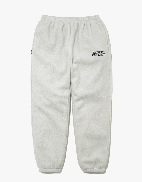 thisisneverthat POLARTEC Fleece Pant - Grey | HEIGHTS. | International Store