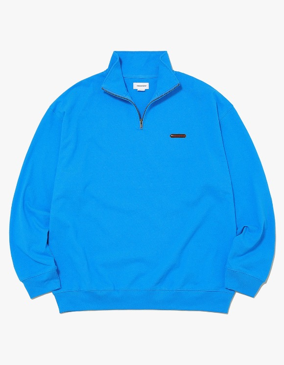 thisisneverthat Rubber SP Half ZIP Pullover - Light Blue | HEIGHTS. | International Store