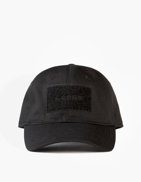 Lores 6-Panel Tactical Cap - Black | HEIGHTS. | International Store