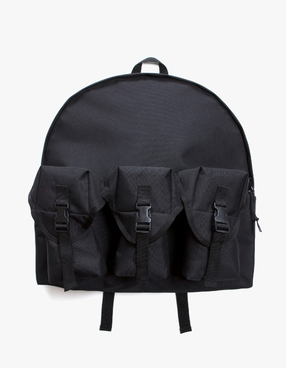 Lores 3 Pocket Backpack - Black | HEIGHTS. | International Store