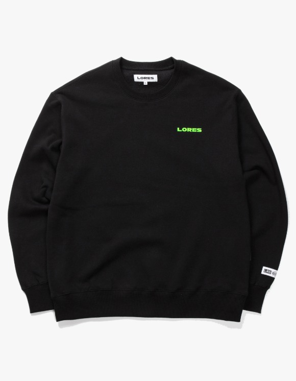 Lores Logo Crewneck - Black | HEIGHTS. | International Store