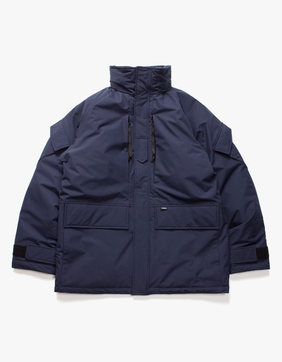 Lores Extreme Cold Weather Parka - Dark Navy | HEIGHTS. | International Store